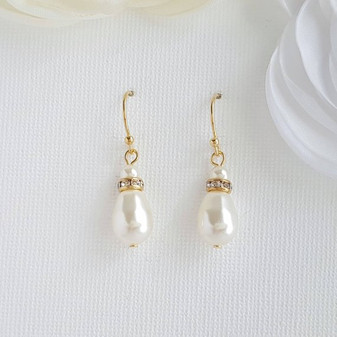 Simple Gold Earrings-June