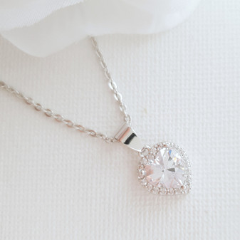 Gift a Heart Pendant Necklace- Diana