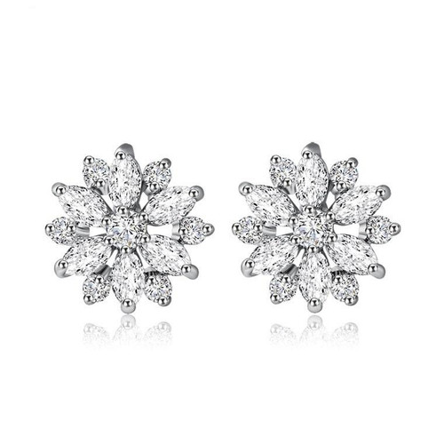 Flower Earrings Studs