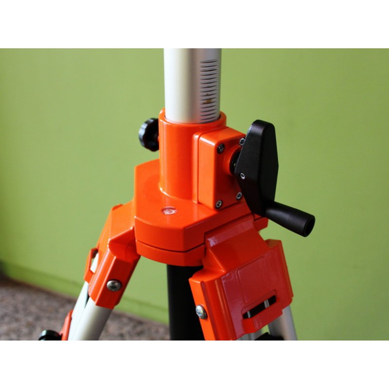 Extended crank for greater height