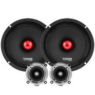 "HIGH WATTAGE MID AND HIGH RANGE PACKAGE EXTREMELY LOUD PRO AUDIO 8"" COMPONENT SET"