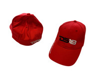 DS18 Flex Fit Cap Red