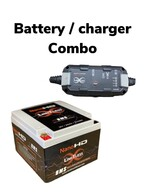Nano -HD Motorcycle / Power sports Battery With Smart Charger