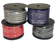 Limitless Lithium 1/0 Silver Tinned OFC Power Wire - 50' Spool