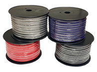 Limitless Lithium 4 Gauge Silver Tinned OFC Power Wire - 100' spool