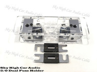 Sky High Car Audio 2/0 ANL Fuse Holder - Set Screw
