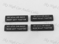 Sky High Car Audio Tweeter Location Heat Shrink - 10 pack