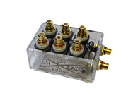 SHCA Clear 1 to 3 RCA Distribution block