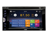 "DD620 6.2"" DOUBLE DIN DVD PLAYER WITH USB & BLUETOOTH"