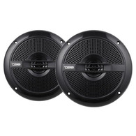 "DS18 HYDRO 6.5"" BLACK 2-WAY MARINE SPEAKERS 380 WATTS (PAIR)"