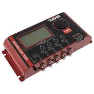 DS18 DSP-14LCD 4 WAYS CAR DIGITAL AUDIO PROCESSOR WITH 2 INPUTS AND 8 INDEPENDENT OUTPUTS