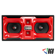 """DS18 VOCETEO 2 x 10"""" PORTED MDF ENCLOSURE WITH FIBER GLASS LOADED"""