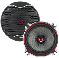 "DS18 EXL-SQ4.0 4"" 3 OHM 2-WAY COAXIAL SPEAKER 340 WATTS WITH FIBER GLASS CONE"