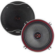 """DS18 EXL-SQ5.25 5.25"""" 3 OHM 2-WAY COAXIAL SPEAKER 340 WATTS WITH FIBER GLASS CONE"""