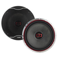 "DS18 EXL-SQ6.5 6.5"" 3-OHM 2-WAY COAXIAL SPEAKER 400 WATTS WITH FIBER GLASS CONE"