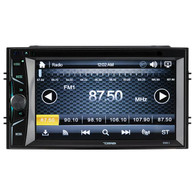 "DDX6.2 DOUBLE-DIN, DVD PLAYER 6.2"" TOUCHSCREEN BLUETOOTH"