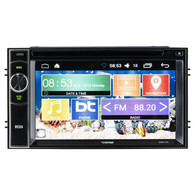 "DDX6.2AD DOUBLE-DIN, DVD PLAYER 6.2"" TOUCHSCREEN ANDROID 6.0 QUADCORE, BLUETOOTH"