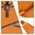 Phat Tommy 9ft steel umbrella with wood grain finish