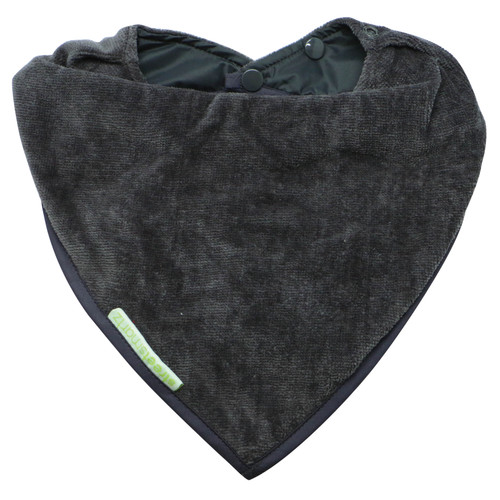 Grey Towel Youth Bandana Bib