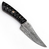Hand Forged Over the Edge Damascus Steel Skinner