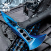 M48 Blue Tactical Tomahawk Axe With Snap On M48 Sheath