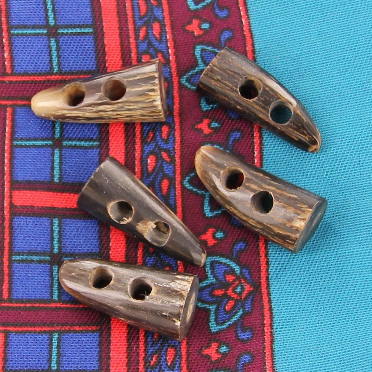 Horn Period in Time Handmade Toggle Set