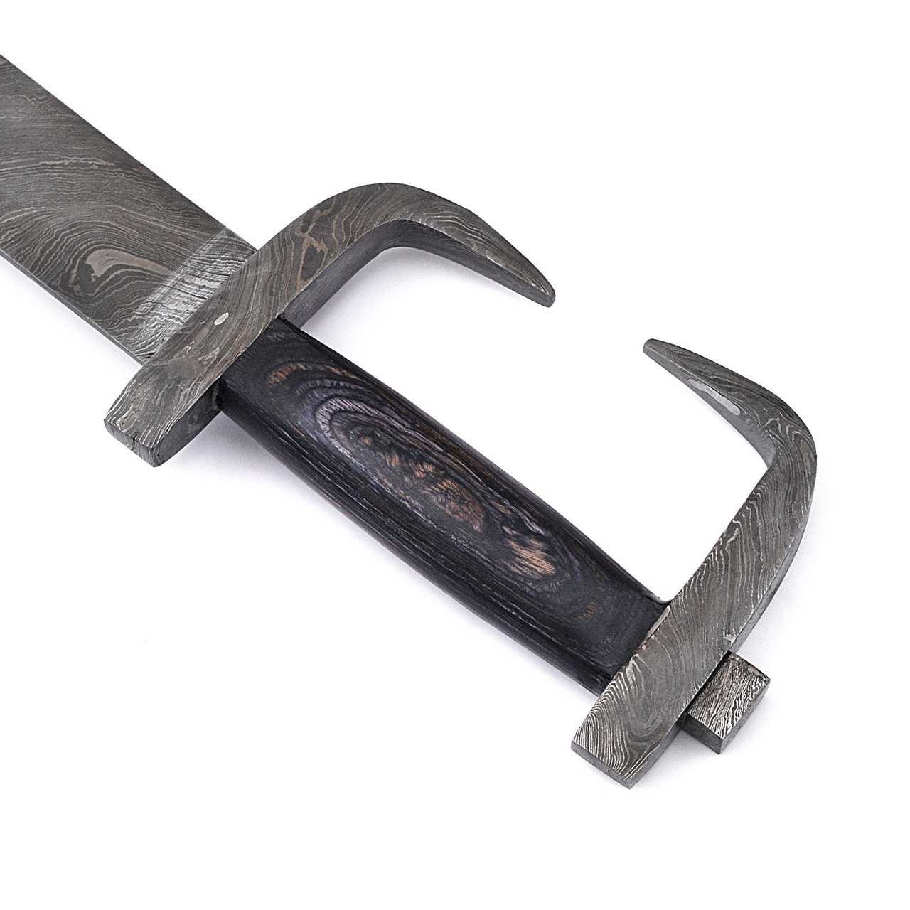 The King of Spartan's Rage Damascus Steel sword