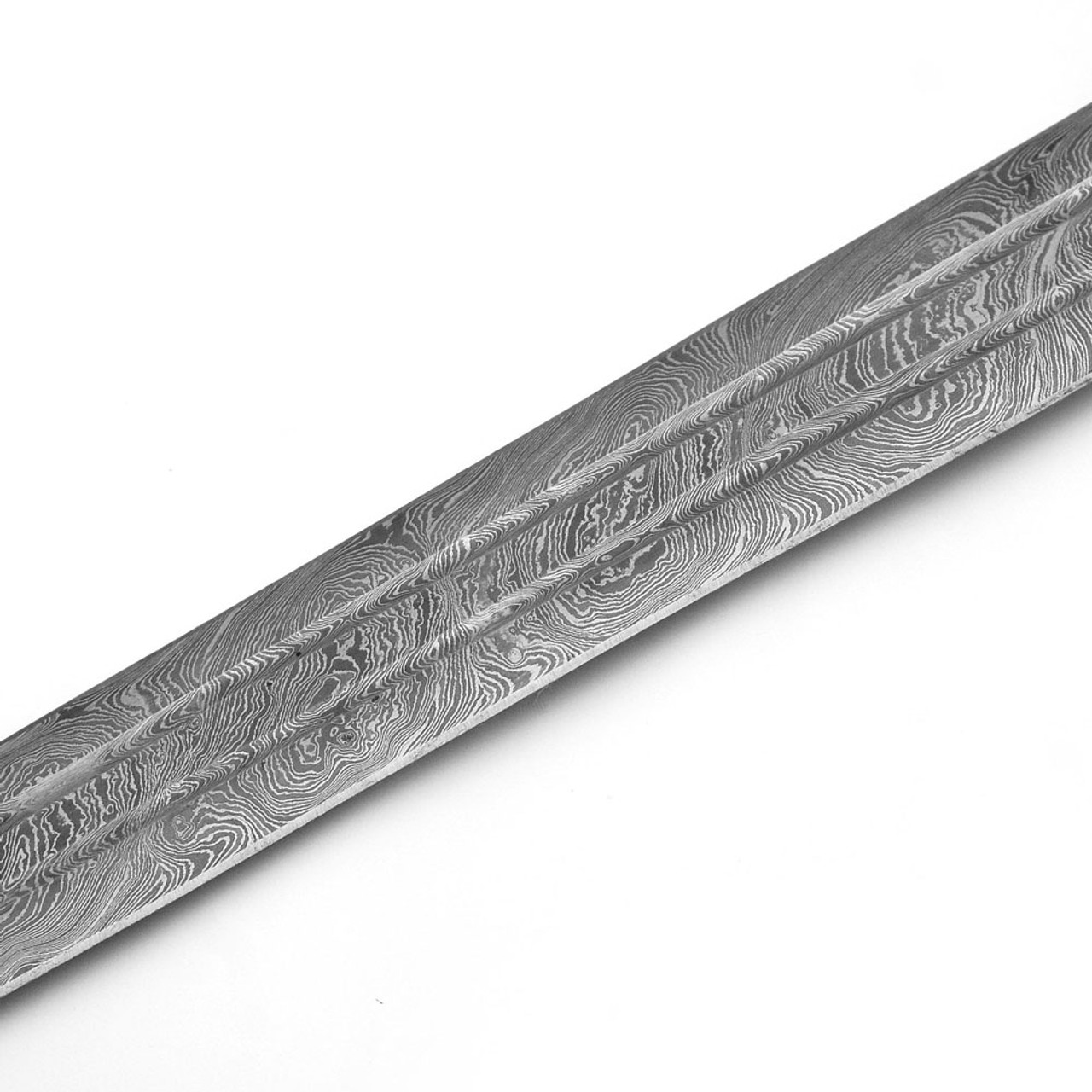Fire Quest Knights of Templar Damascus Steel Medieval Arming Sword