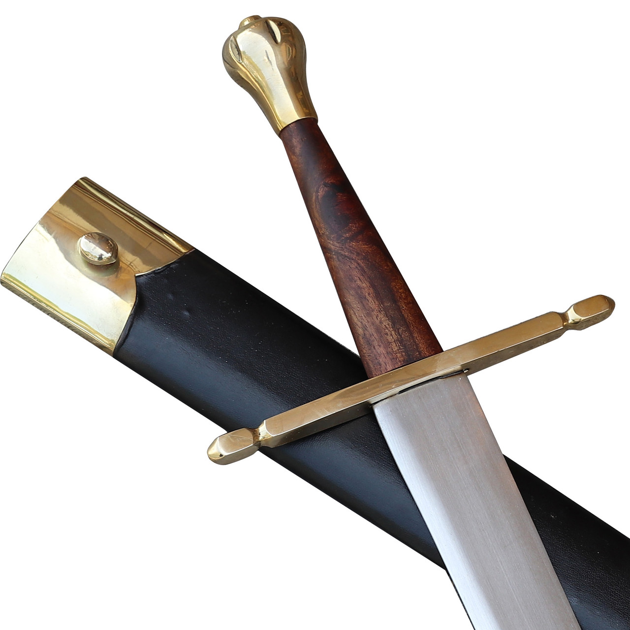 Medieval European Decorative Display Sword Scabbard Included