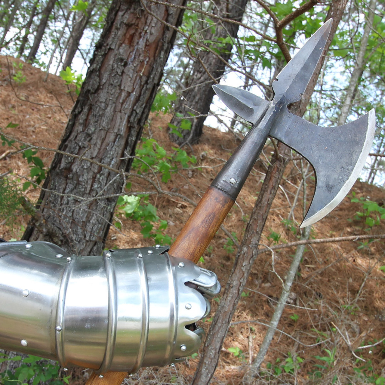 Elite Medieval Cavalry Hand Forged Battle Axe