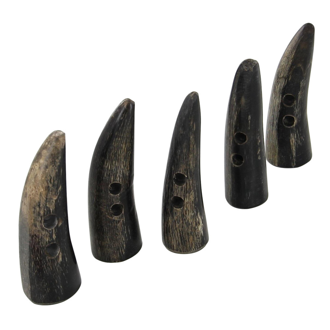 Viking Rurick Handcrafted Horn Set of 5 Toggles