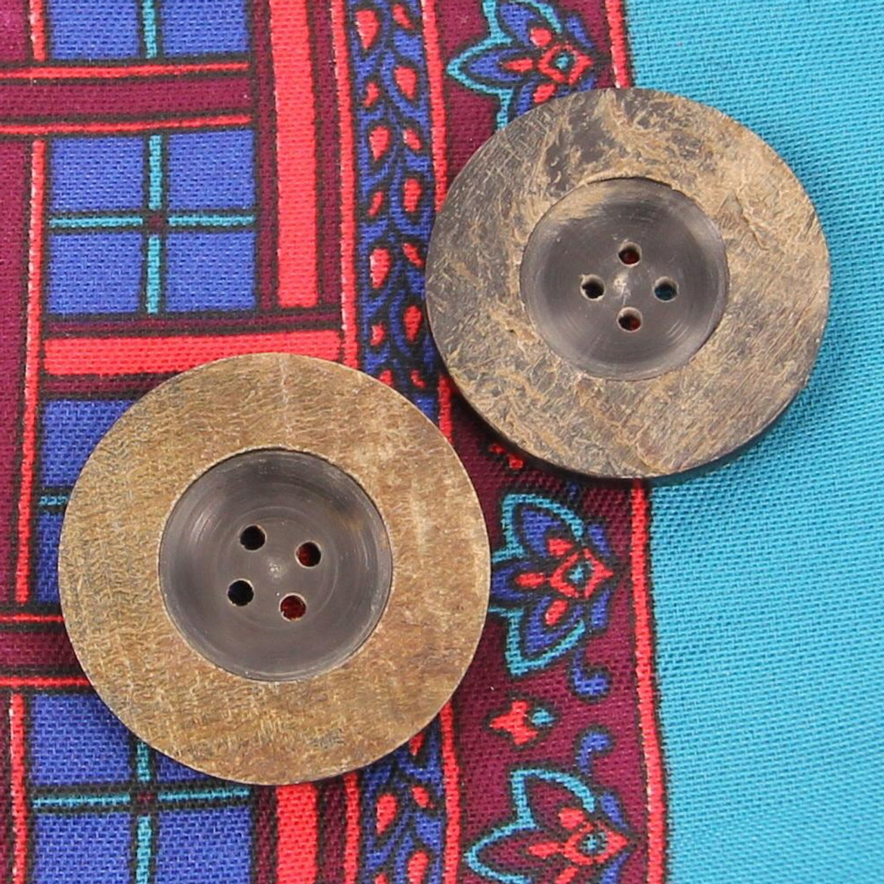 Distressed Handmade Vogue Fashion Buttons