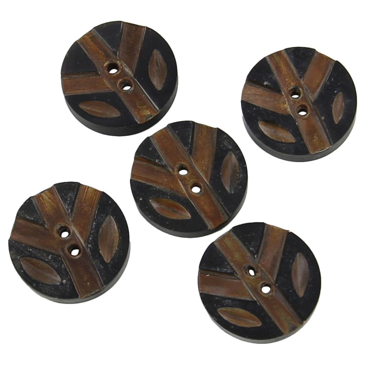 Tree Song Five Button Horn Set