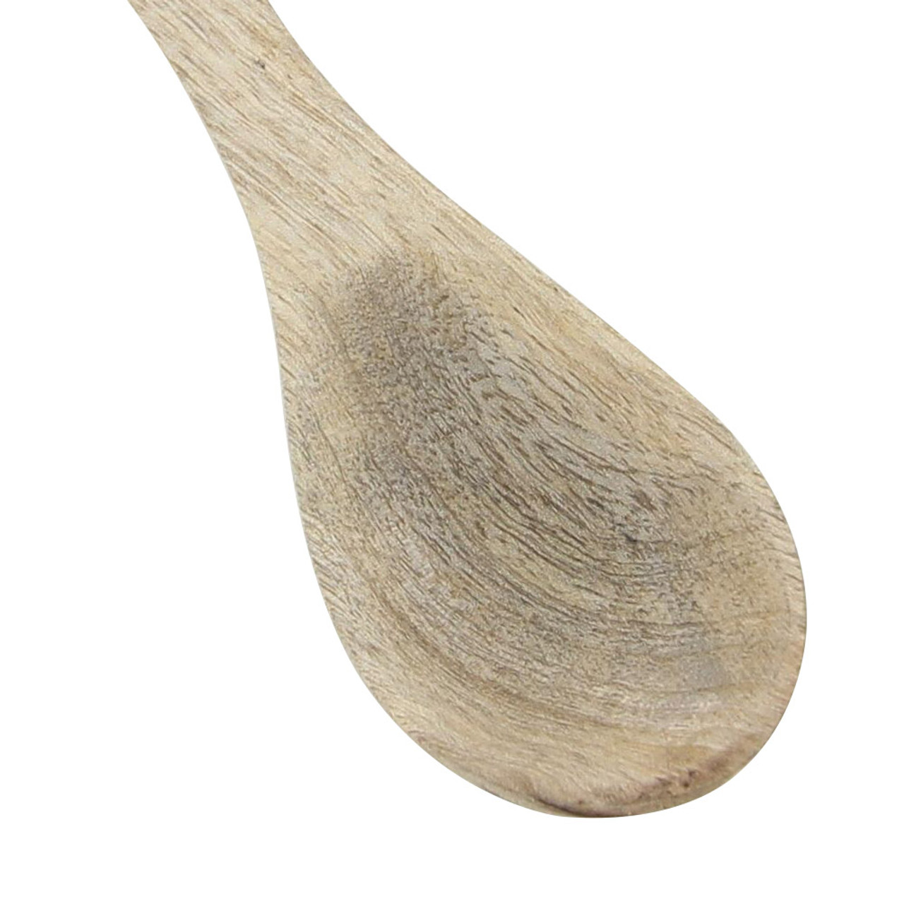 Traditional Soups on Medieval Wooden Spoon