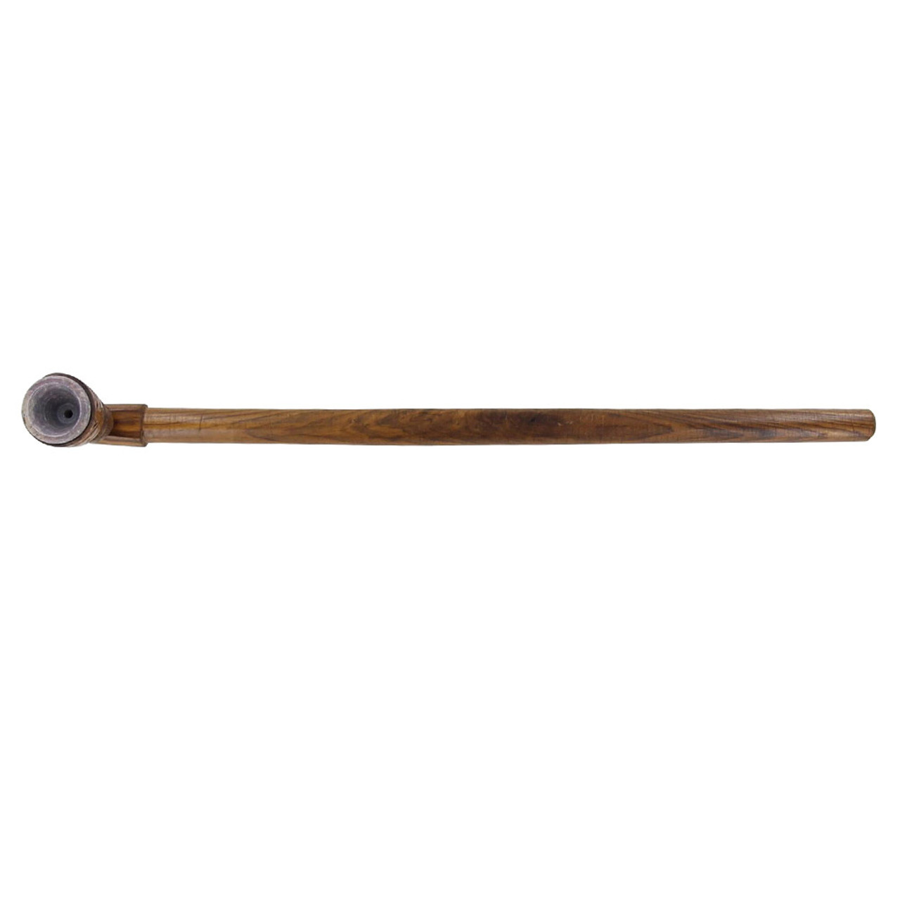 Running Wolf Traditional Wooden Ceremonial Pipe