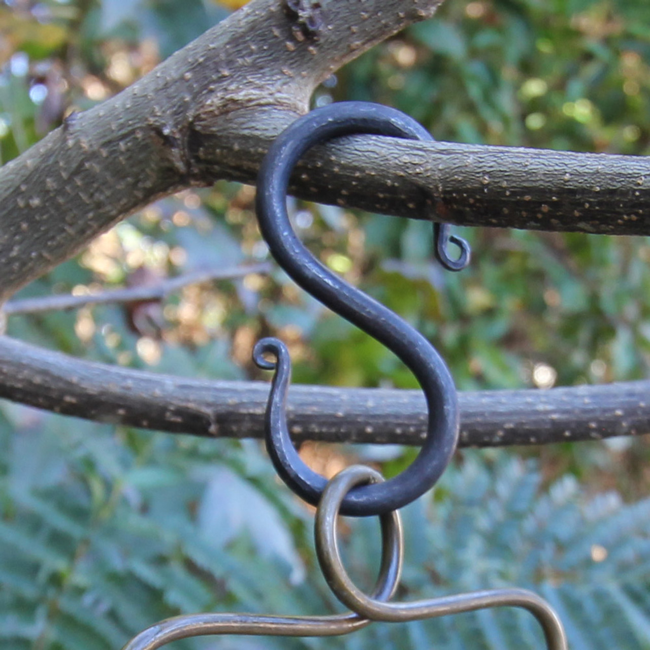 Medieval Forged Steel Iron S Shaped Hook