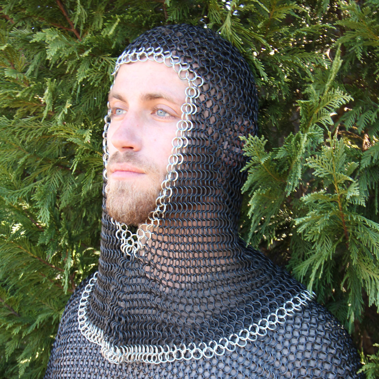 Medieval V Chainmail Coif
