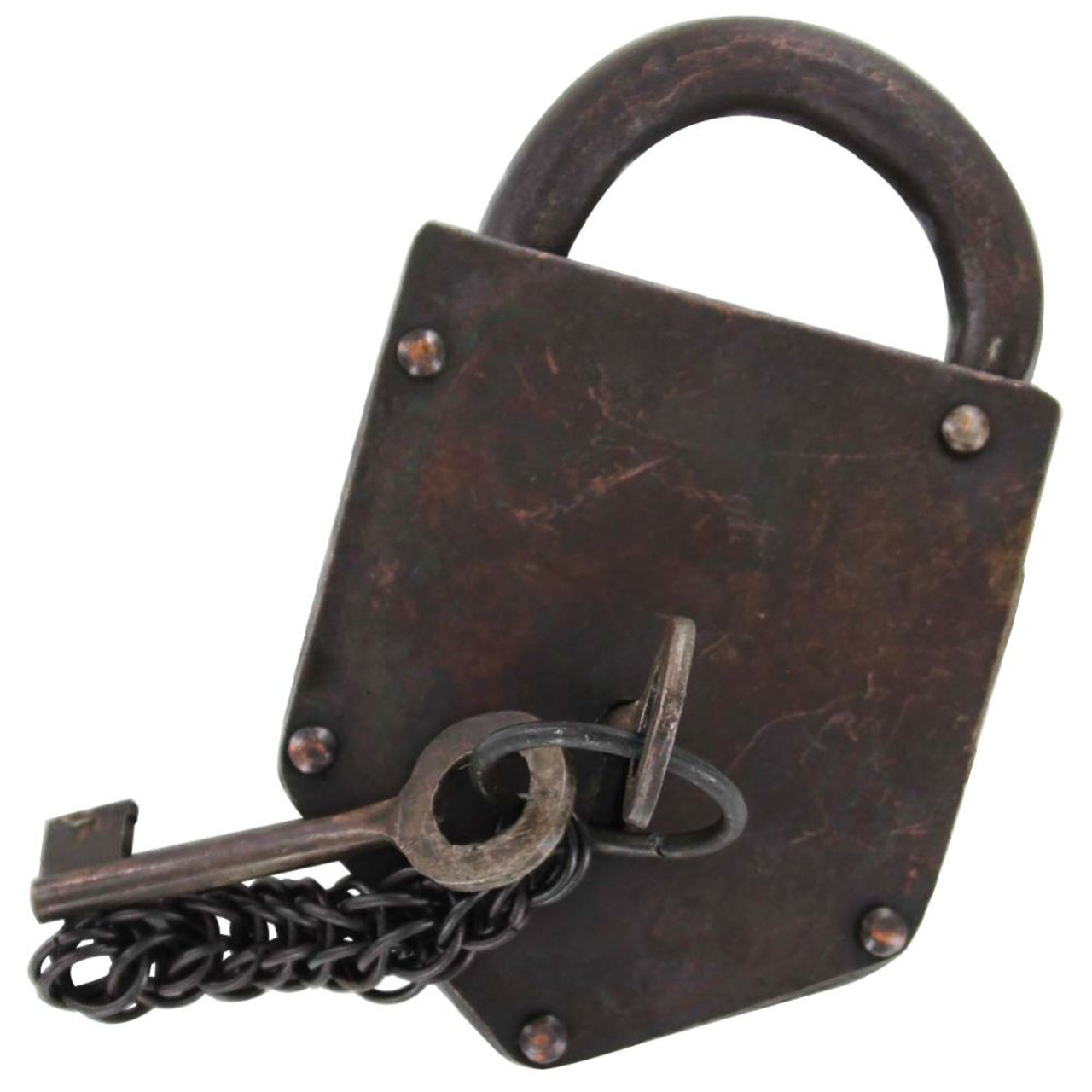 Functional Old Wild West Bank & Post Office Lock