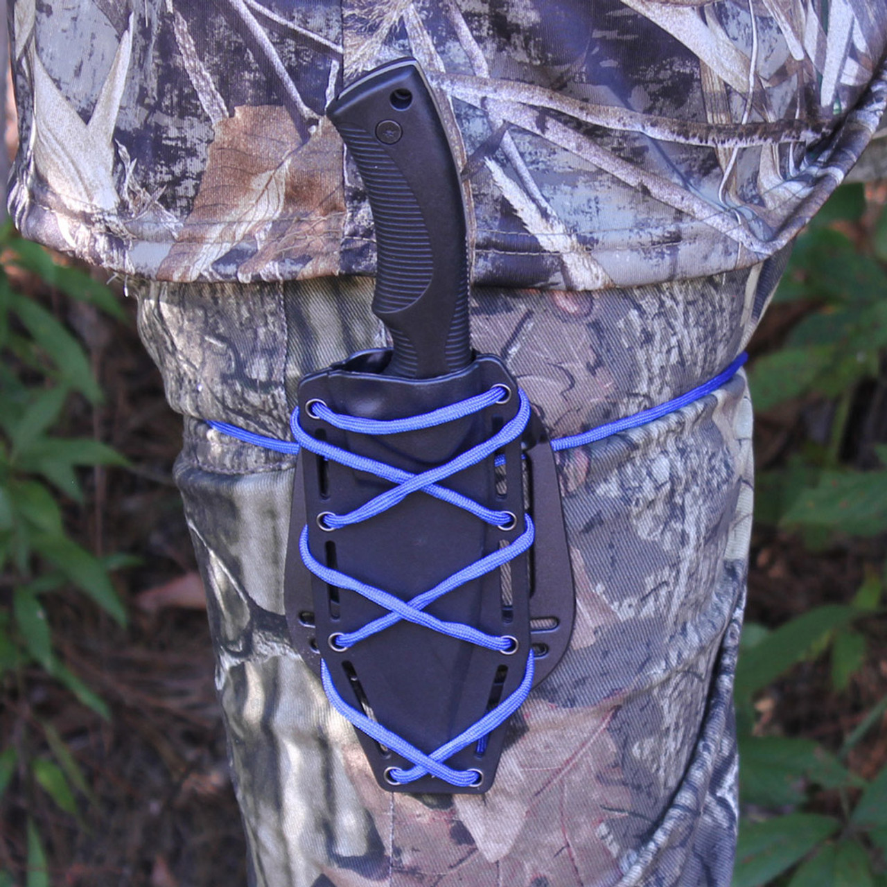 Intimidation Technique Tactical Hunting Knife with Paddle
