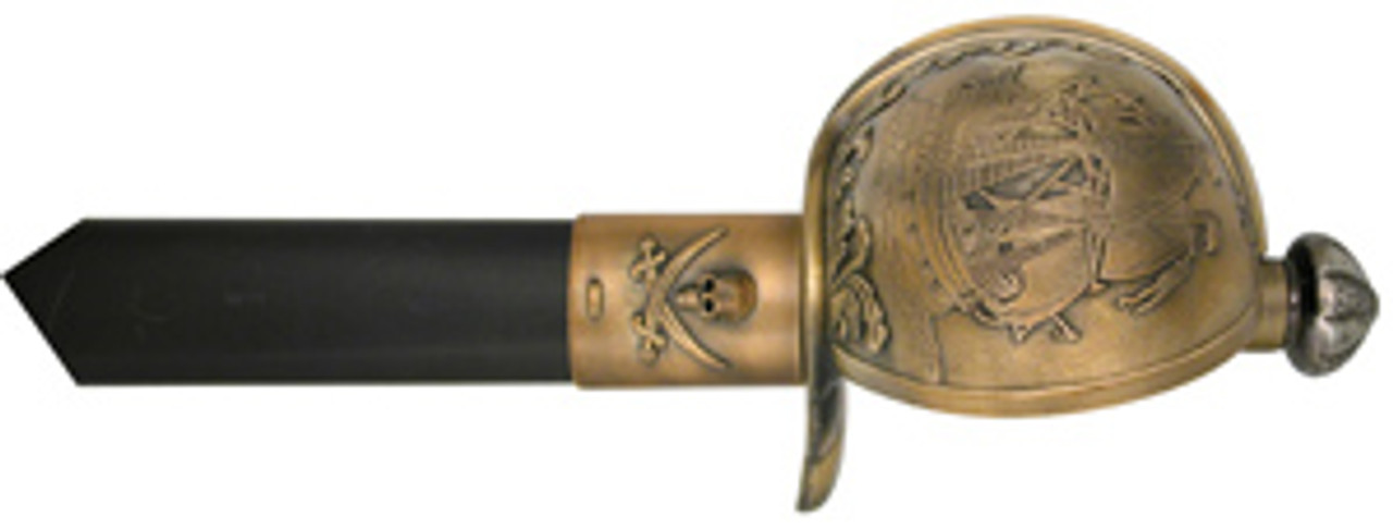 Pirates Sword with Cast Metal Fittings