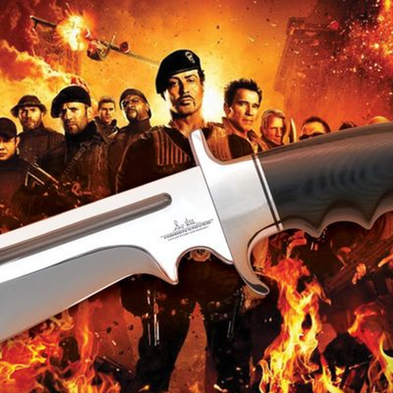 Gil Hibben Legionnaire Bowie from The Expendables 2 - GH5037