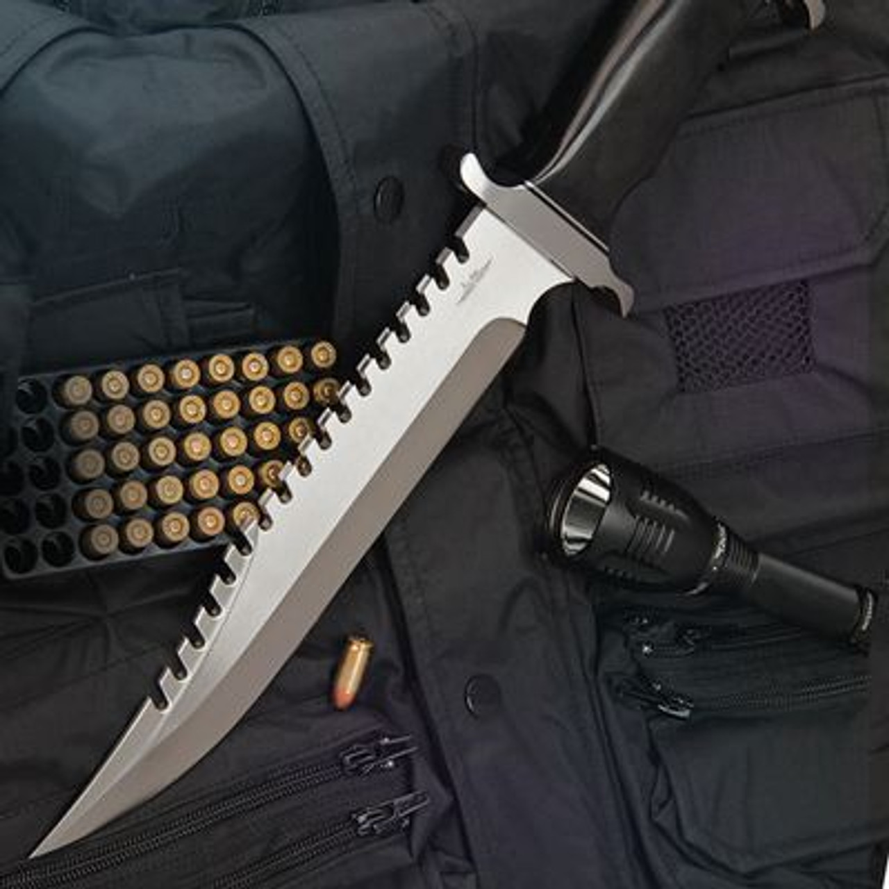 Gil Hibben Extreme Survival Bowie With Sheath - GH5026