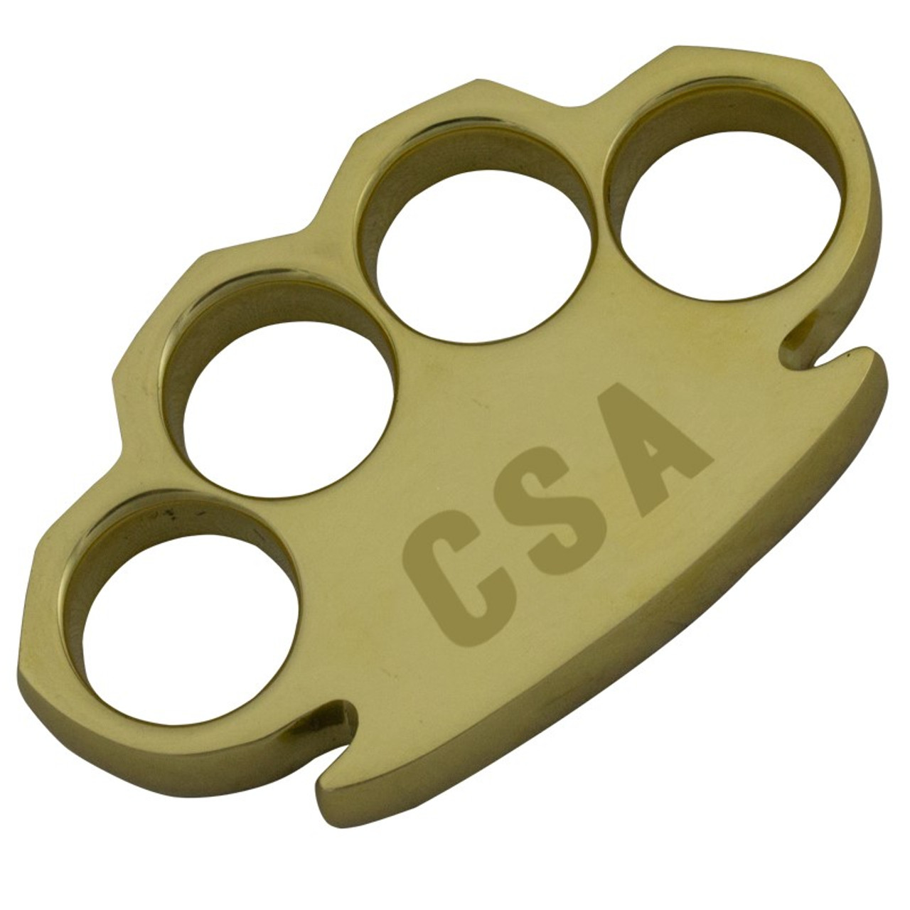Dalton 15 OZ Real Brass Knuckles Buckle Paperweight - Heavy Duty CSA