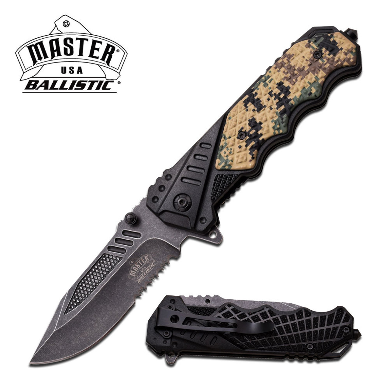 MASTER USA MU-A025DG SPRING ASSISTED KNIFE