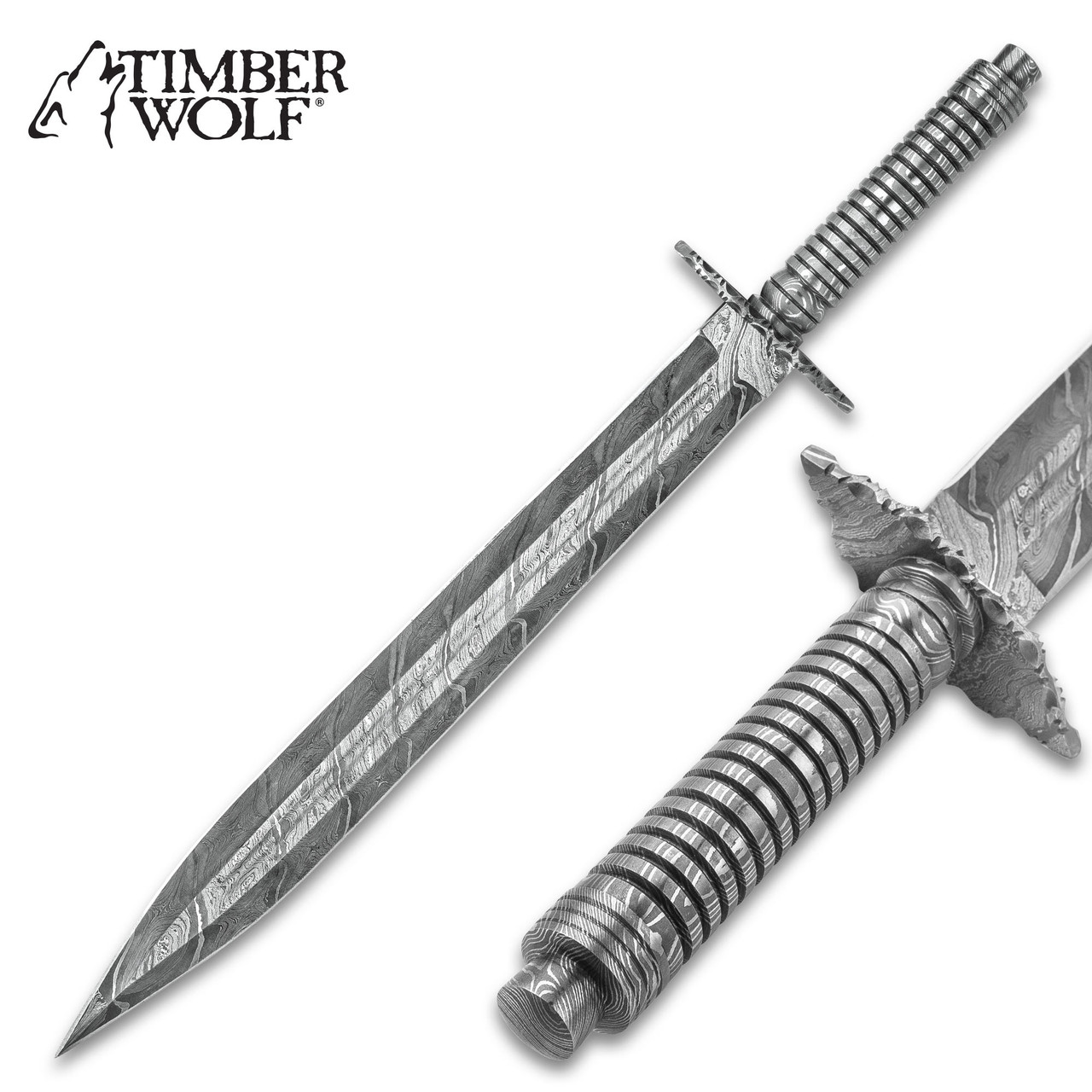 Timber Wolf Mesopotamia Fixed Blade Long Knife