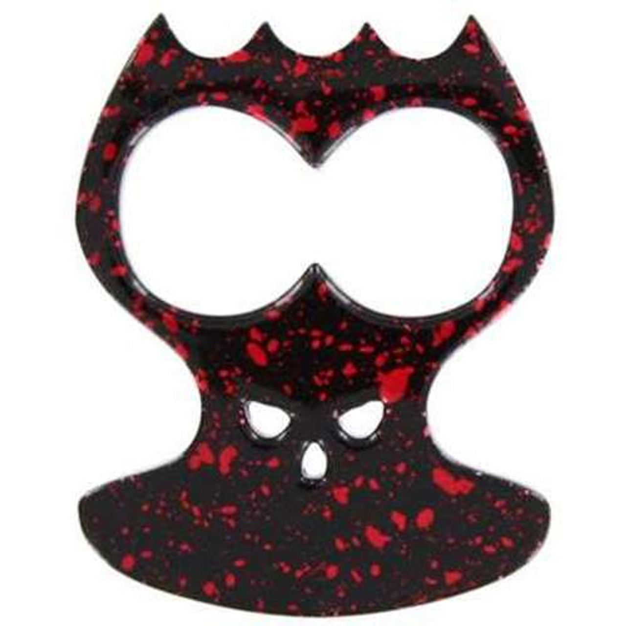 Bone Crusher Self Defense Spotted Red Knuckle