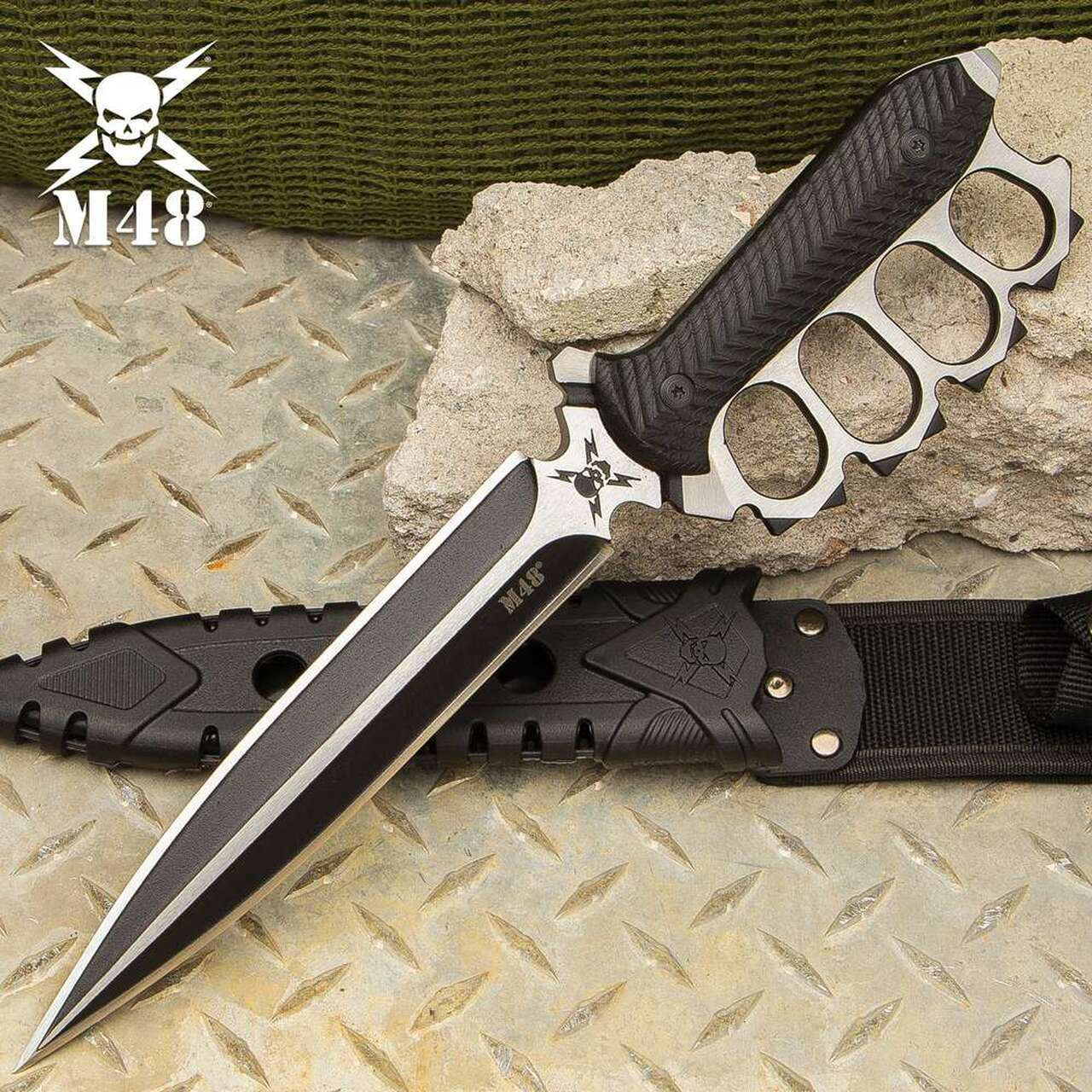 M48 Liberator Trench Knife With Sheath