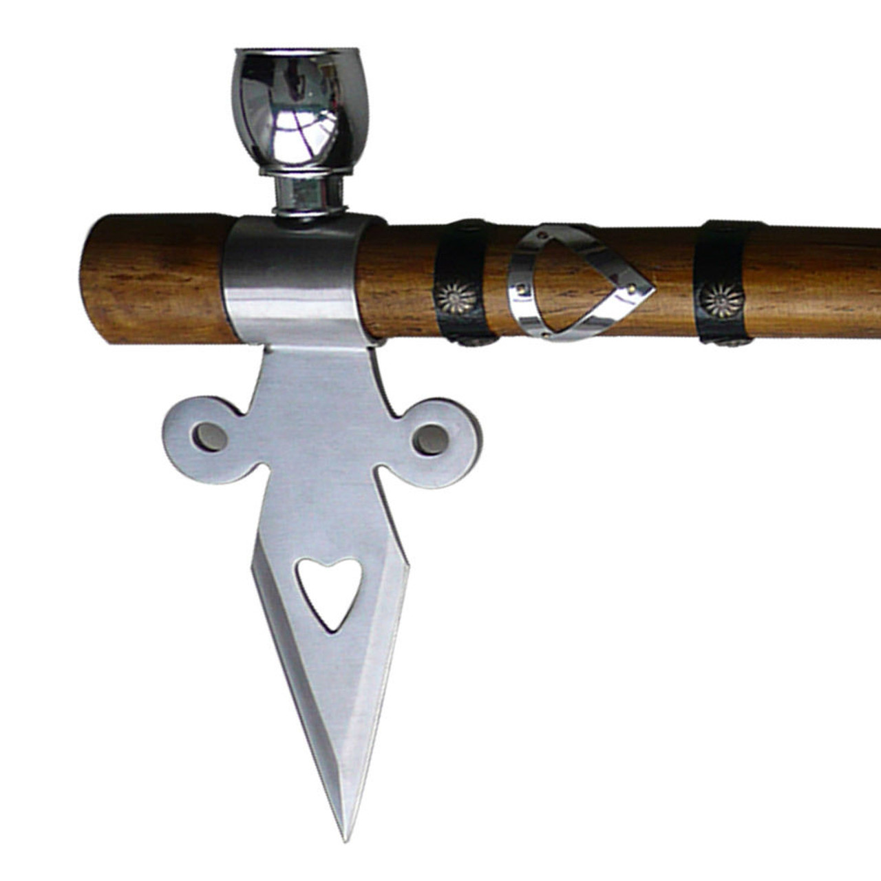 Earth Spirit Ceremonial Tomahawk Peace Pipe Native American Throwing Axe Hatchet