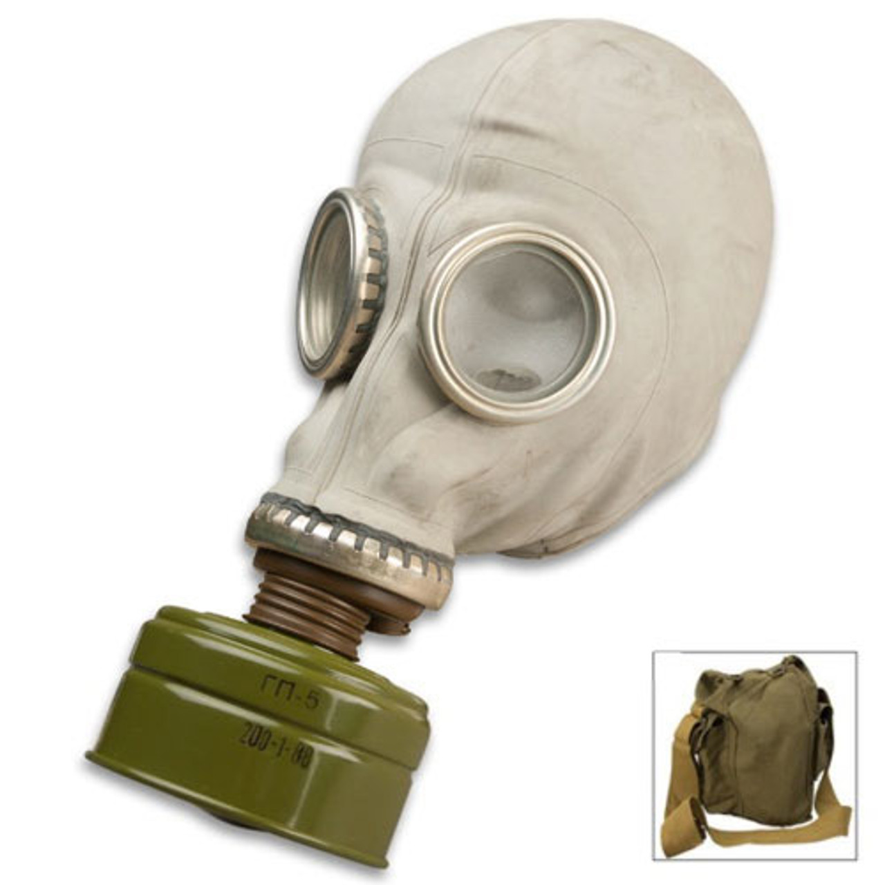 Russian SMS Gas Mask With Filter  And Carry on Bag