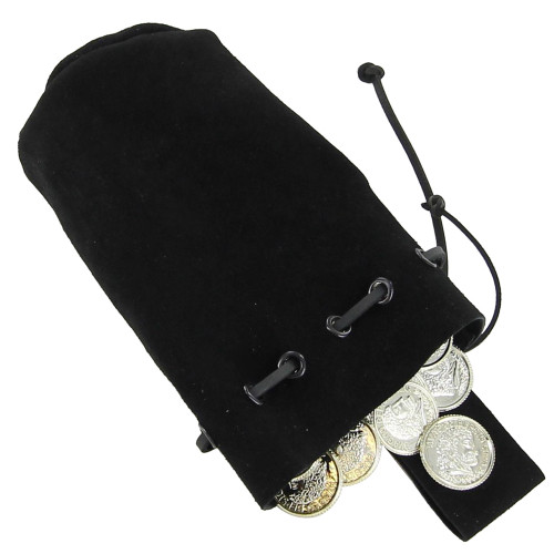 Middle Ages Daily Life Suede Belt Pouch